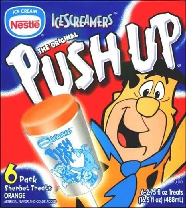Push Ups: Flintstones is listed (or ranked) 4 on the list Vintage Snack Logos That Are So '90s It Hurts