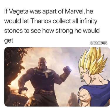 Wouldn't Be Surprised is listed (or ranked) 2 on the list 21 Hilarious Vegeta Memes We Laughed Way Too Hard At