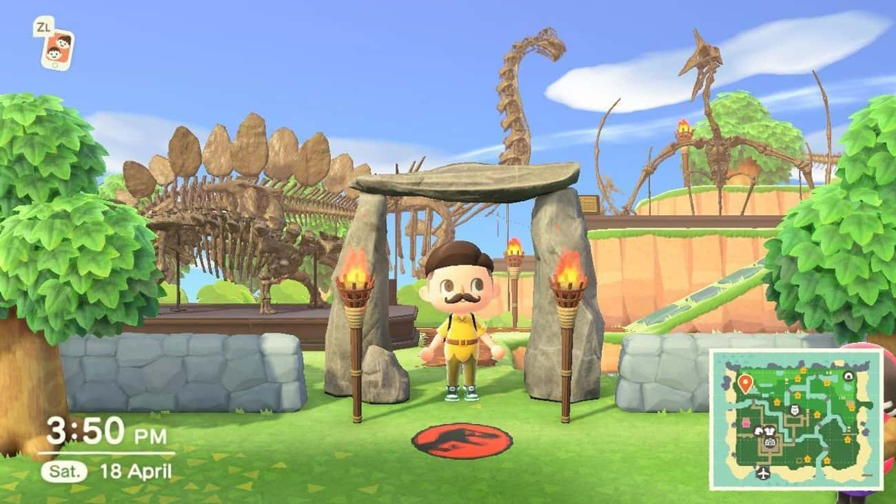 Jurassic Park is listed (or ranked) 1 on the list Movies And TV Shows Recreated In Animal Crossing