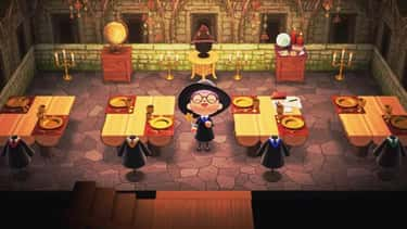 Hogwarts Great Hall is listed (or ranked) 2 on the list Movies And TV Shows Recreated In Animal Crossing