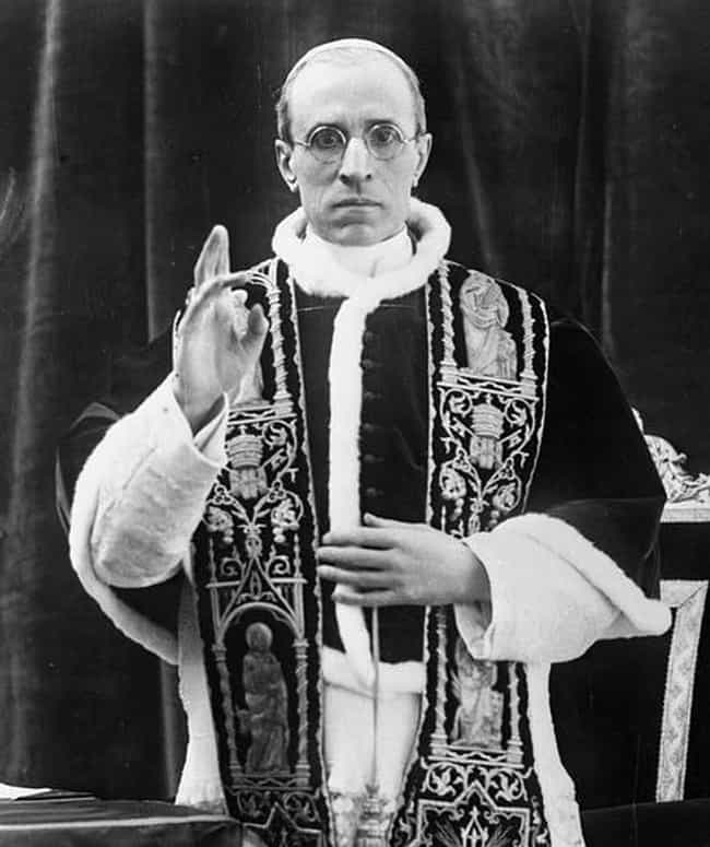 Pope Pius XII Denying Ey... is listed (or ranked) 1 on the list 15 Of The Most Absurd And Unforgivable Things The Catholic Church Has Ever Done