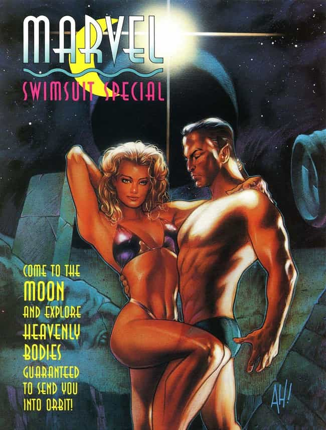 Marvel Pandered To Horny... is listed (or ranked) 2 on the list The Weirdest Comic Book Gimmicks Of All Time