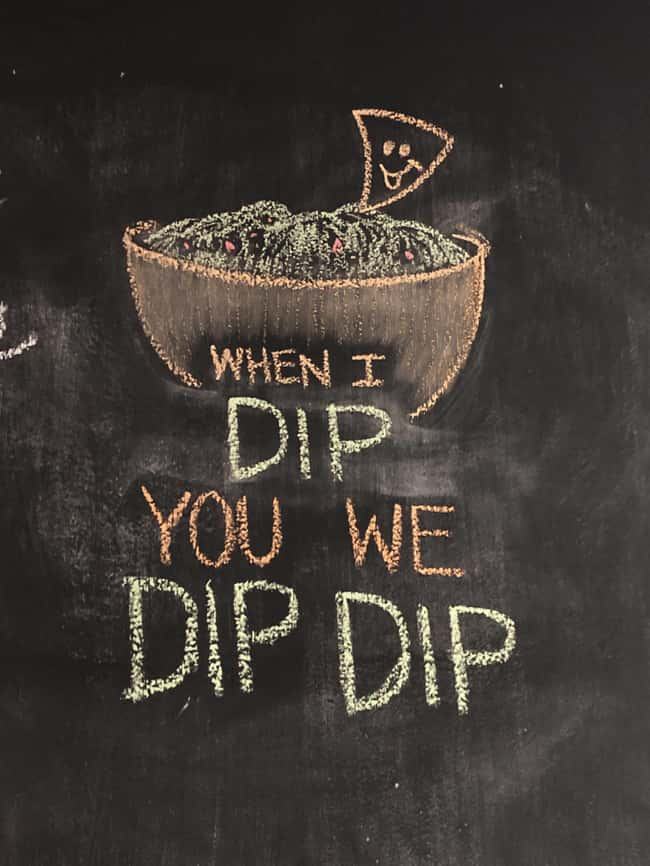 You We Dip Dip is listed (or ranked) 14 on the list 32 Hilarious Sign Fails That Made Their Messages Meaningless