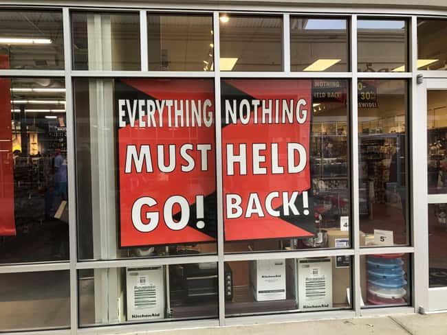 Everything Nothing Must Held G is listed (or ranked) 24 on the list 32 Hilarious Sign Fails That Made Their Messages Meaningless