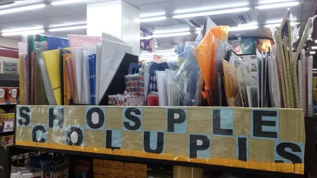 Shosple Colupis is listed (or ranked) 7 on the list 32 Hilarious Sign Fails That Made Their Messages Meaningless