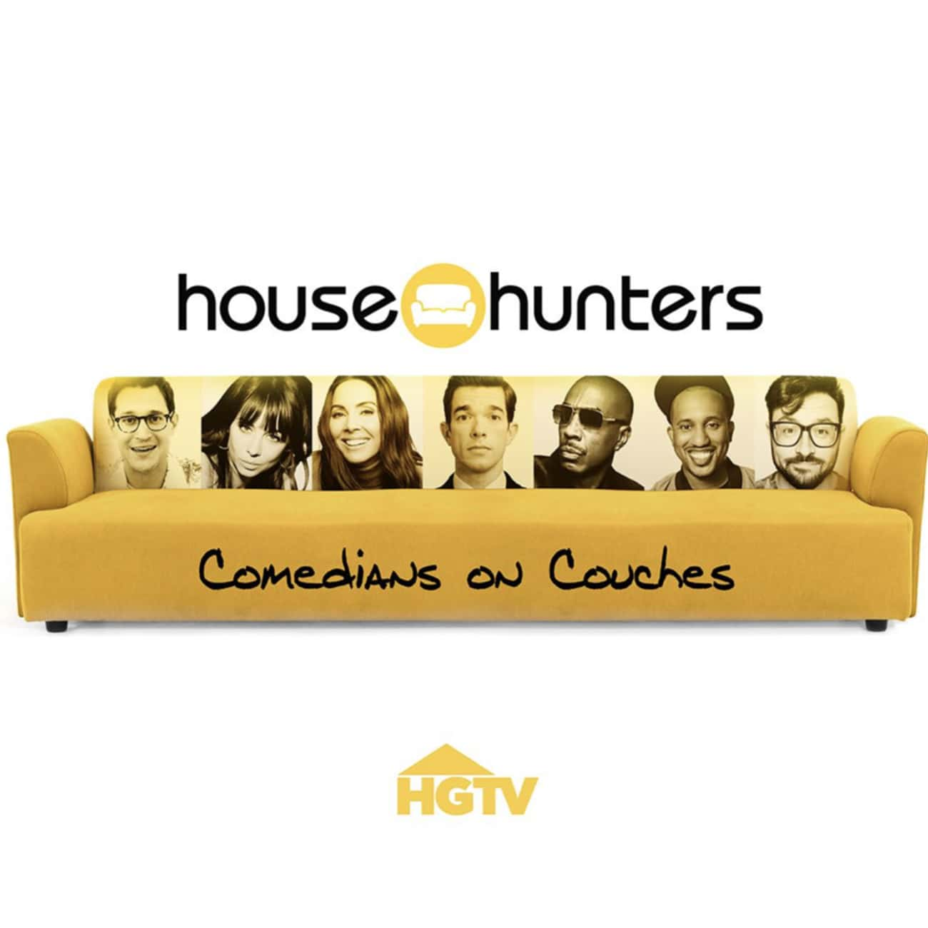 House Hunters: Comedians on Co is listed (or ranked) 2 on the list New Shows Filmed In (And Around) Social Isolation