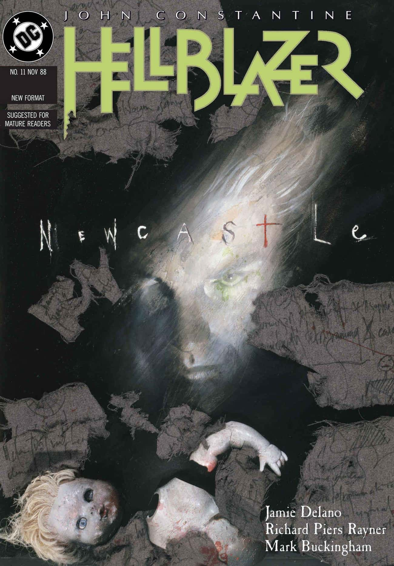 Newcastle: A Taste Of Things T is listed (or ranked) 4 on the list The Best John Constantine Storylines In Comics