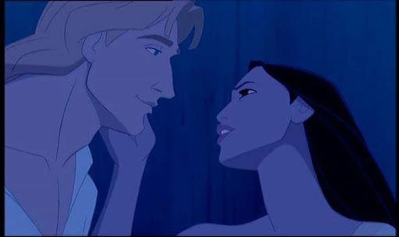 I Can't Leave You is listed (or ranked) 3 on the list The Most Memorable 'Pocahontas' Quotes