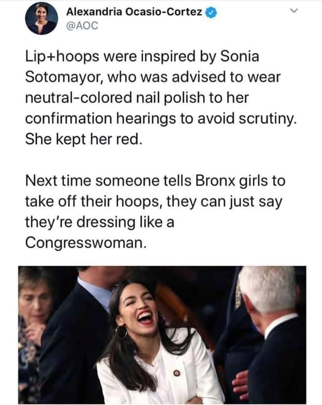 Dress Like A Congresswoman is listed (or ranked) 20 on the list 24 Times Women Clapped Back At Obvious Sexism And It Was Excellent