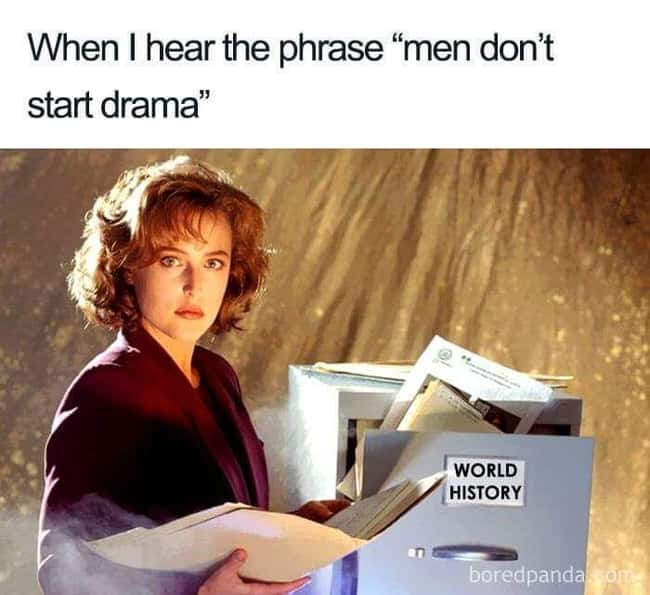 Drama Queen is listed (or ranked) 9 on the list 24 Times Women Clapped Back At Obvious Sexism And It Was Excellent
