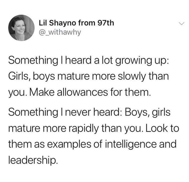 Intelligence And Leadership is listed (or ranked) 7 on the list 24 Times Women Clapped Back At Obvious Sexism And It Was Excellent