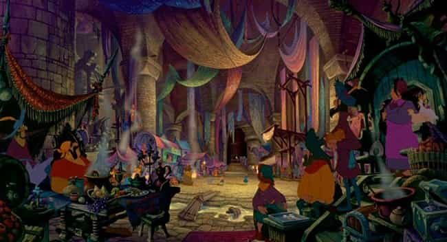 The Court Of Miracles In... is listed (or ranked) 2 on the list 13 Historical References In Disney Movies We Missed When We Were Kids
