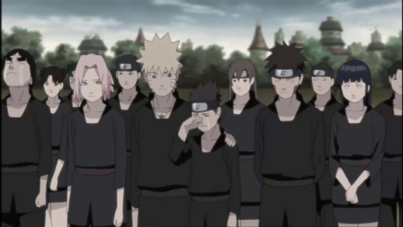 Neji's Funeral Became Everyone is listed (or ranked) 3 on the list The 17 Biggest Differences Between The 'Naruto' Manga and Anime