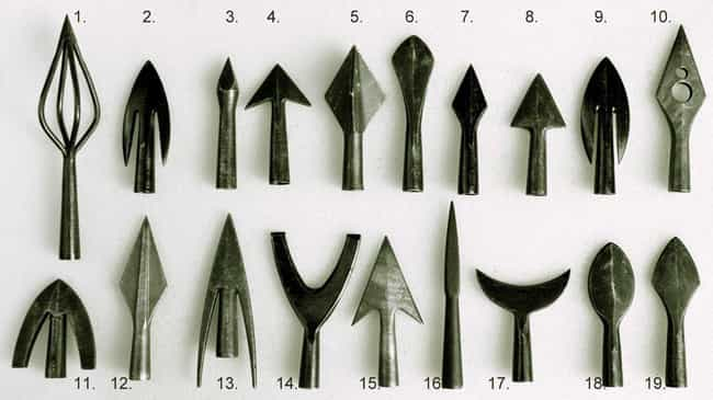 Arrows Shot From A Longb... is listed (or ranked) 1 on the list Brutal Weapons Throughout History