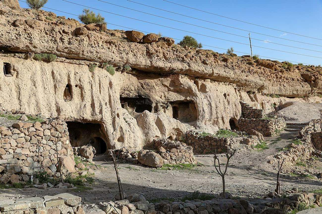 Meymand, Iran (c. 2000 BC) is listed (or ranked) 4 on the list The Oldest Houses In The World That Are Somehow Still Standing