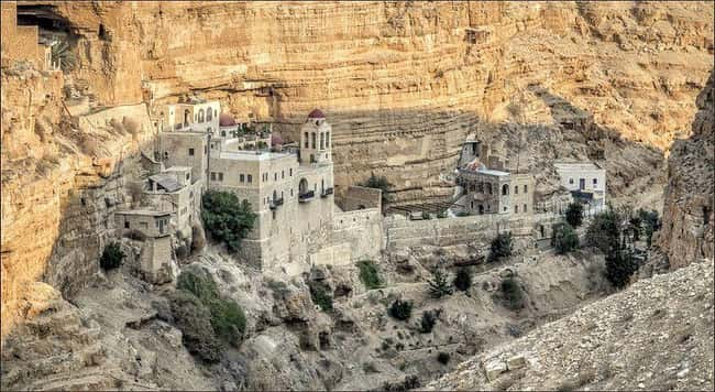 St. George Monastery, Palestin is listed (or ranked) 7 on the list The Oldest Houses In The World That Are Somehow Still Standing