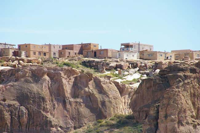 Acoma Pueblo, USA (c. 1150 AD) is listed (or ranked) 9 on the list The Oldest Houses In The World That Are Somehow Still Standing