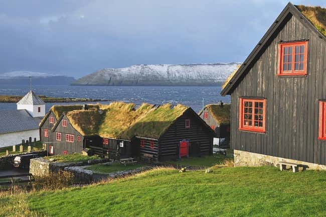 Kirkjubøargarður, Faroe Island is listed (or ranked) 10 on the list The Oldest Houses In The World That Are Somehow Still Standing