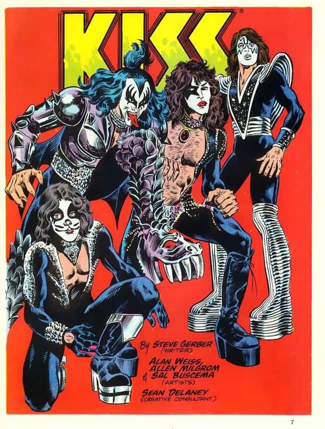The Blood Of Band Member... is listed (or ranked) 1 on the list The Weirdest Comic Book Gimmicks Of All Time