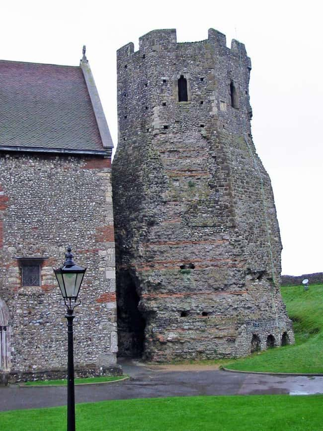 Roman Lighthouse, England (c. is listed (or ranked) 6 on the list The Oldest Houses In The World That Are Somehow Still Standing