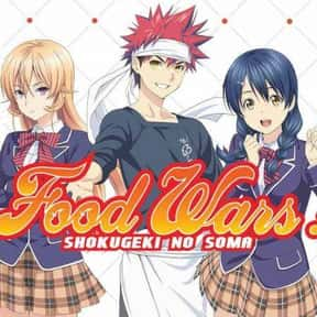 Food Wars: Shokugeki no Soma is listed (or ranked) 4 on the list The Most Popular Anime Right Now