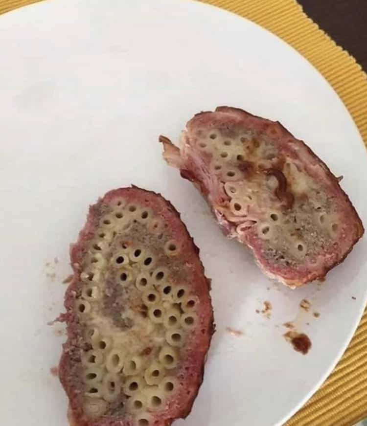 People Share Their Unexpected Trypophobia Moments