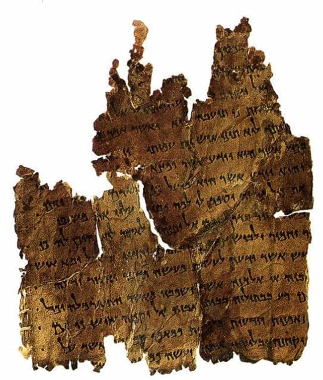 New Text Was Discovered ... is listed (or ranked) 2 on the list 17 Bizarre Archaeological Finds That Rewrote History As We Know It