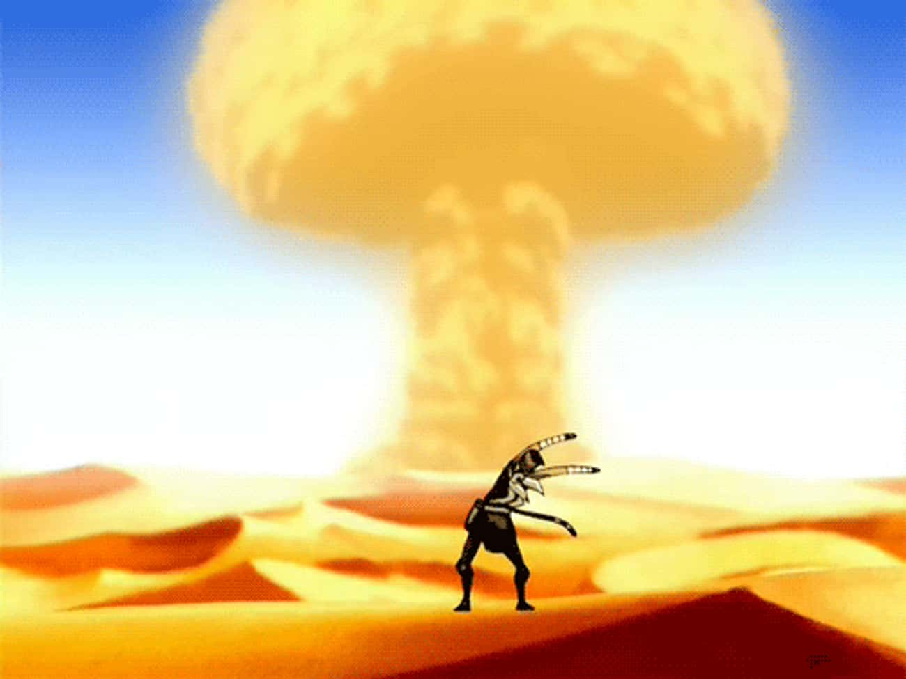 Giant Mushroom is listed (or ranked) 2 on the list The Best Sokka Quotes From 'Avatar: The Last Airbender'