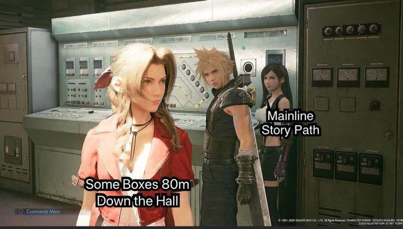 We're All Guilty is listed (or ranked) 4 on the list 25 'Final Fantasy VII Remake' Memes Every Fan Can Relate To