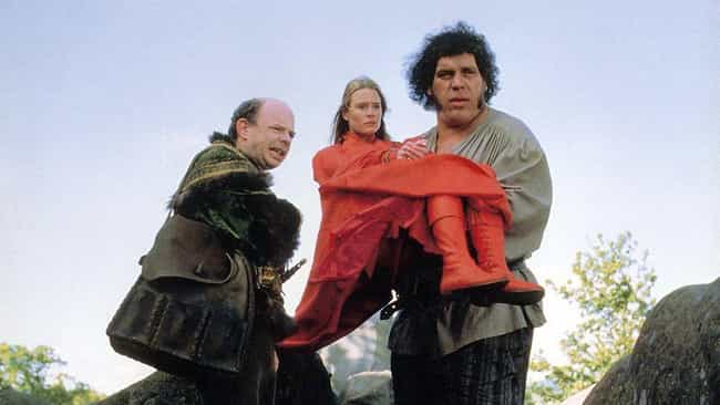 On 'The Princess Bride' ... is listed (or ranked) 1 on the list 14 Heartwarming Stories About Andre The Giant From The People Who Knew Him