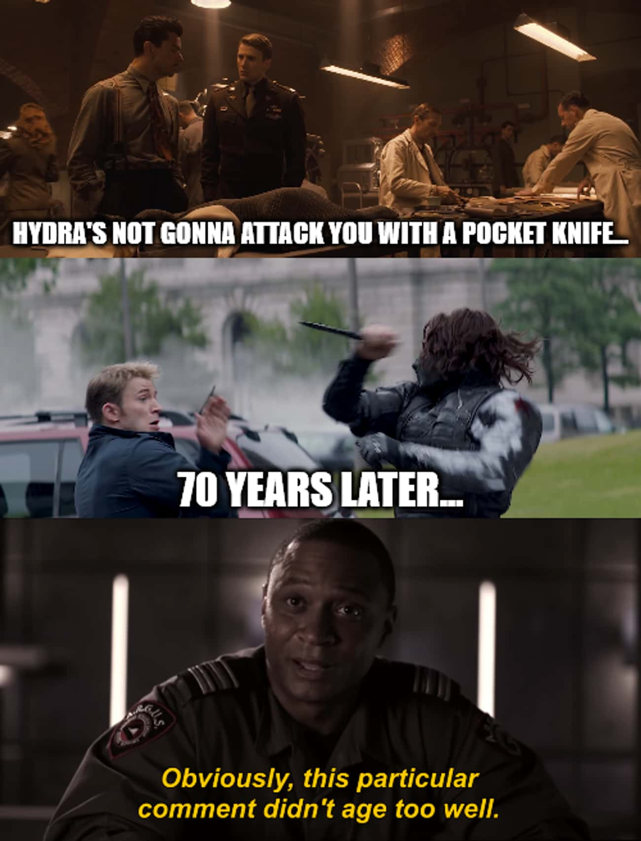 Diggle is listed (or ranked) 4 on the list Ultra-Specific MCU Memes That Only Hardcore Marvel Fans Will Get