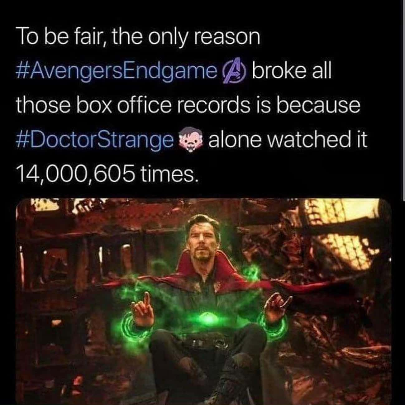 Record Breaking is listed (or ranked) 3 on the list Ultra-Specific MCU Memes That Only Hardcore Marvel Fans Will Get