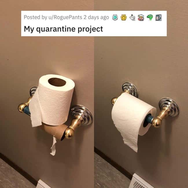 Right Way To Do Toilet Paper is listed (or ranked) 25 on the list 38 Viral Pictures That Made Gave Us Much Needed Positivity This Past Week