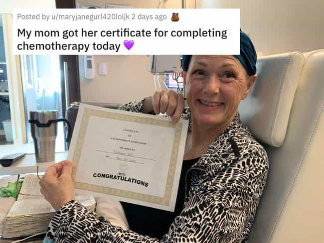 Certificate Of Completio... is listed (or ranked) 3 on the list 38 Viral Pictures That Made Gave Us Much Needed Positivity This Past Week