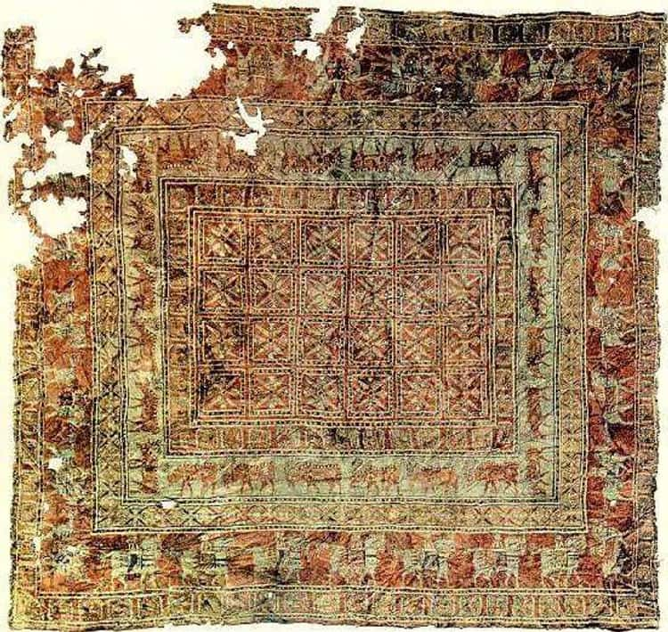 The Oldest Known Carpet In The World, 5th Century BCE