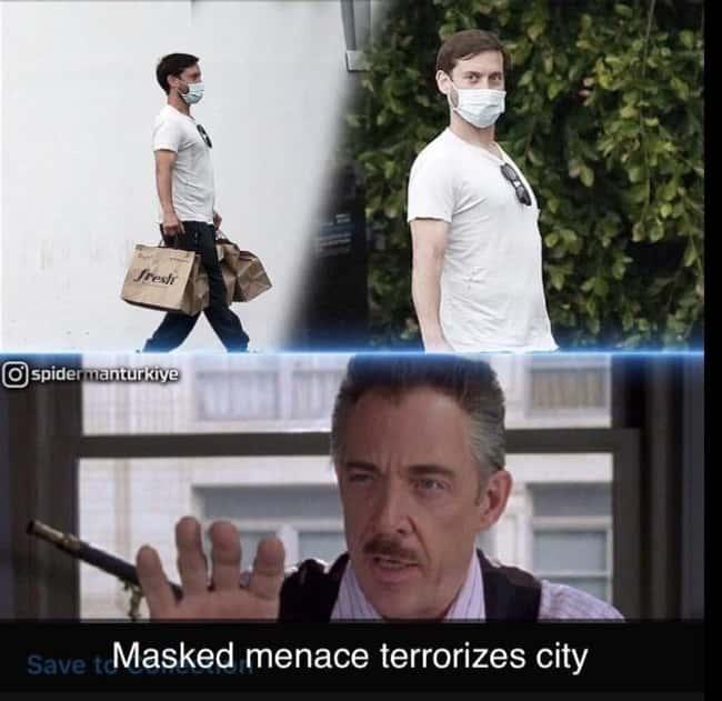 Tobey Macguire Memes