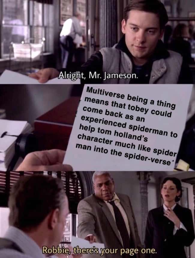 Tobey's Coming Back