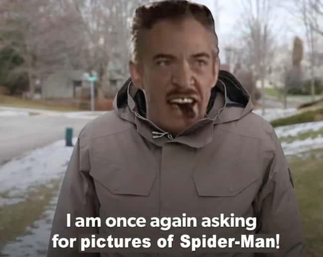 J. Jonah Jameson Spiderman Picture Memes