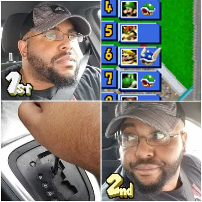 Highly Advanced Maneuver... is listed (or ranked) 2 on the list 33 Mario Kart Memes That Anyone Obsessed With The Game Can Relate To