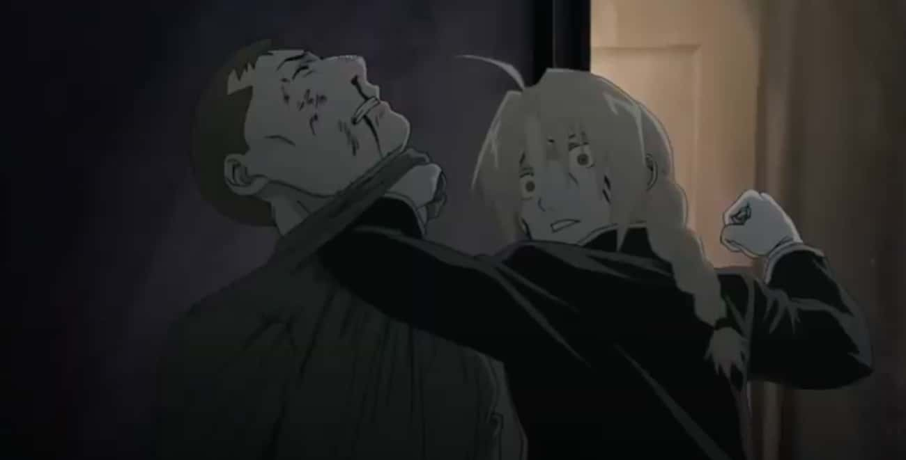 Edward Elric Gives A Monster What He Deserves In ''Fullmetal Alchemist: Brotherhood'