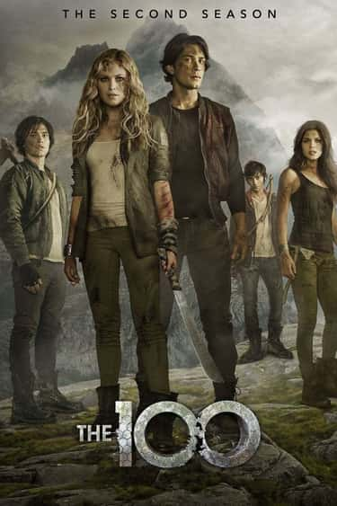 The 100 - Season 2 is listed (or ranked) 1 on the list Ranking the Best Seasons of 'The 100'