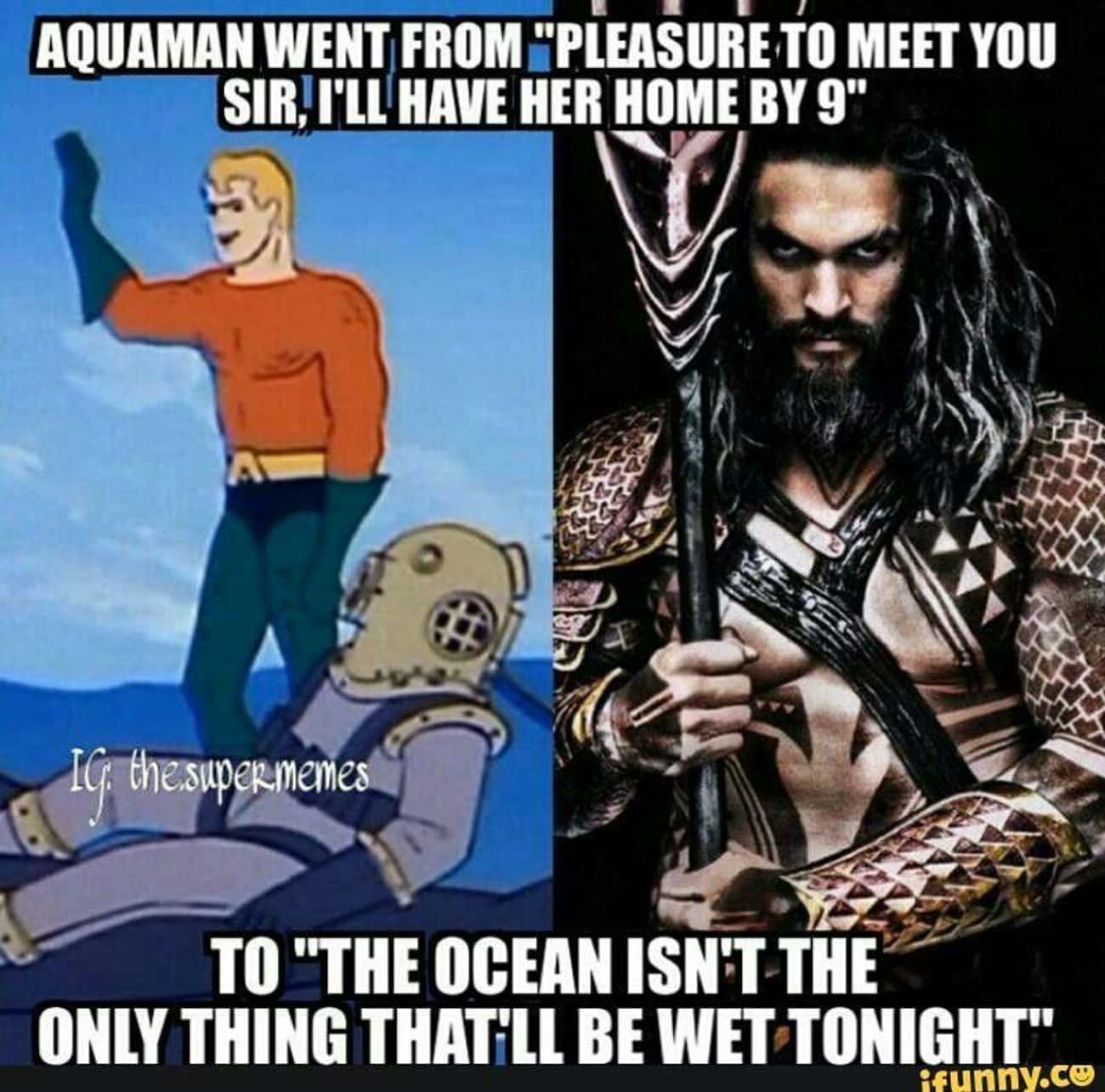 Aquaman Memes That Prove Hes The Most Underrated Justice