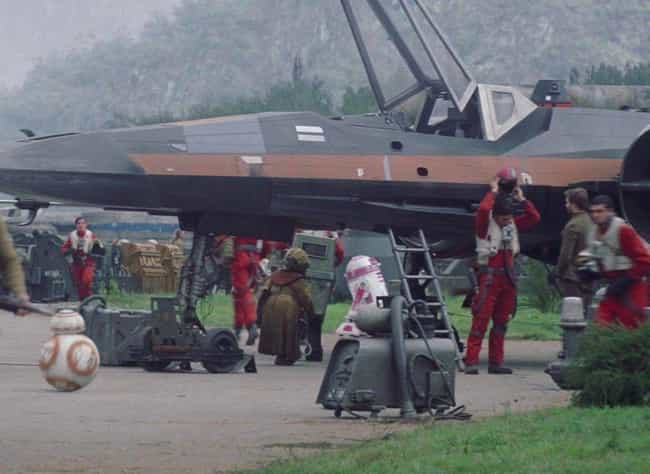 A Special Droid is listed (or ranked) 1 on the list 19 Small But Poignant Details 'Star Wars' Fans Shared About The Movies