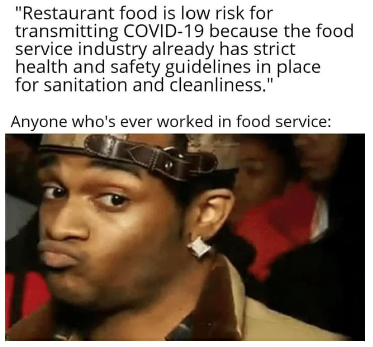 Image of Random Funny Memes Made By Restaurant Workers