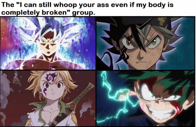 I Love How This Is A Thi... is listed (or ranked) 4 on the list 22 Hilarious Memes About Shonen Anime That Are Way Too Accurate