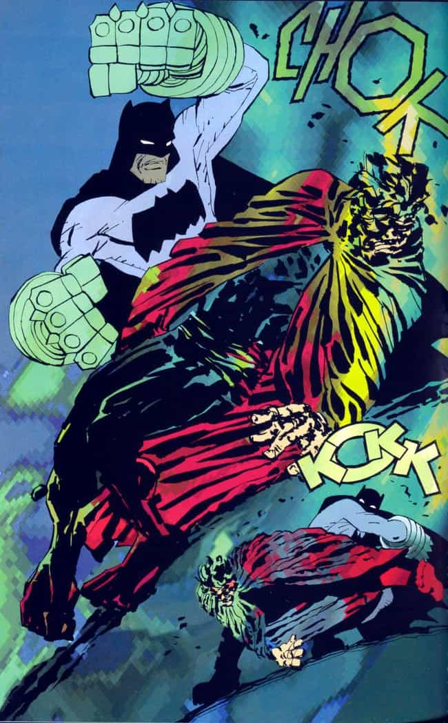 'The Dark Knight Strikes... is listed (or ranked) 3 on the list The Most Hated DC Comic Arcs Of All Time