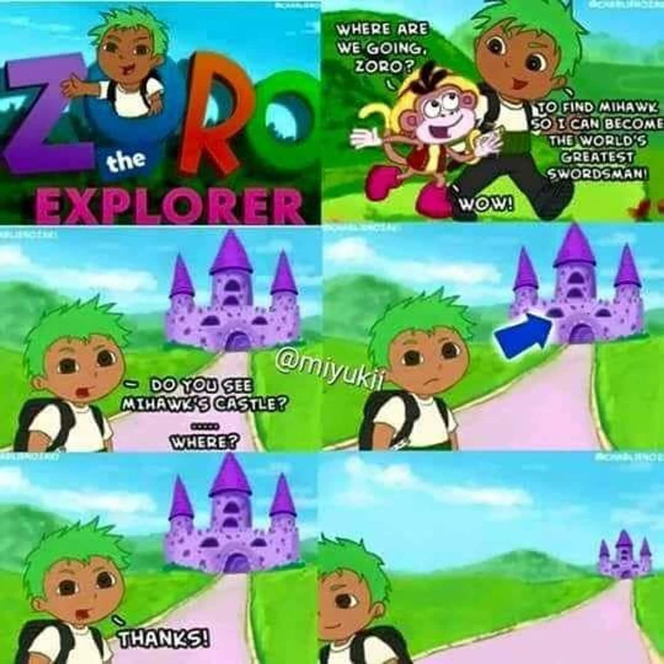 Zoro The Explorer