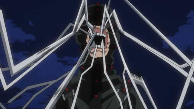 Moonfish - 'My Hero Acad... is listed (or ranked) 3 on the list 13 Anime Characters With Creepy Powers