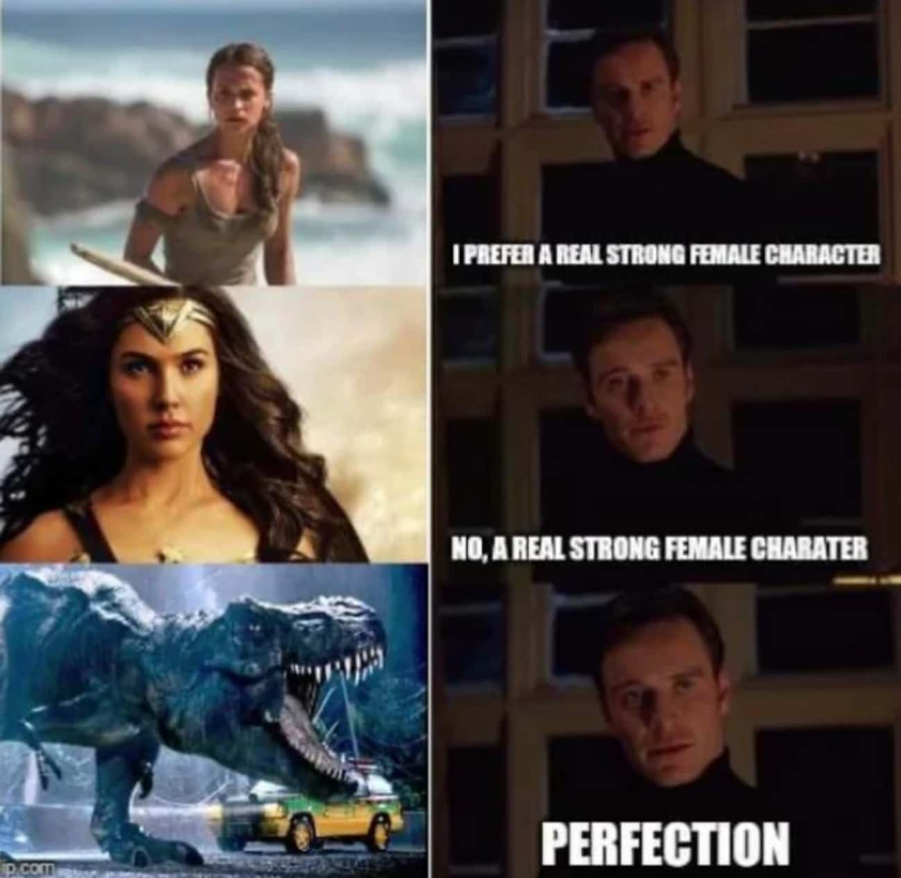 The Strongest Female Character is listed (or ranked) 3 on the list 21 Funny 'Jurassic Park' Memes That Only Clever Girls Will Understand