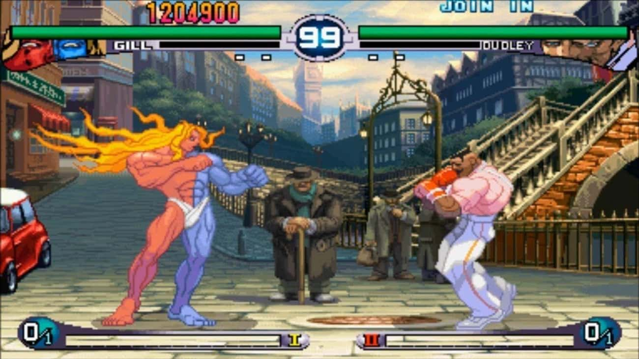 Gill - 'Street Fighter III: 2nd Impact'